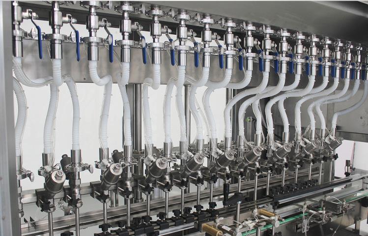 液体灌装机细节图